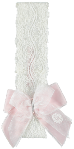 Piccola Speranza Lace & Bow Head band
